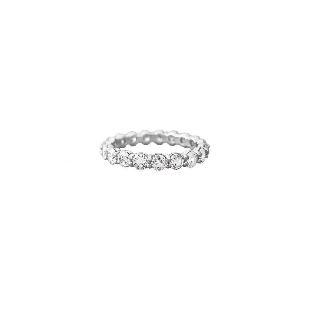 Vintage Diamond Eternity Band by fewer Finer