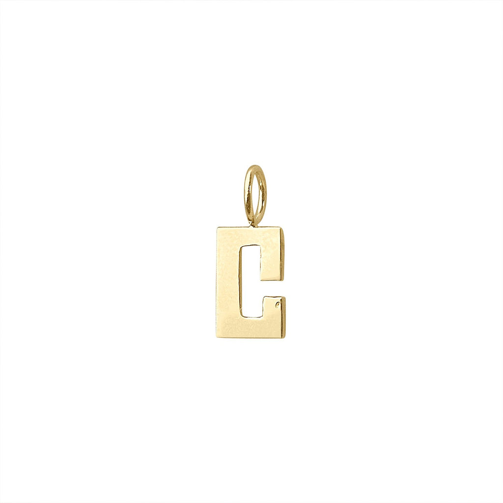 "Vintage Letter ""C"" Charm by Fewer Finer"