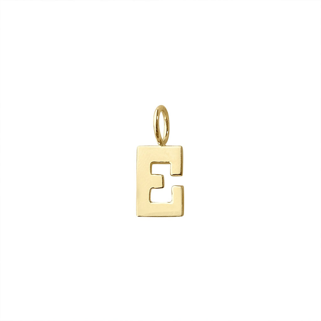 "Vintage Letter ""E"" Charm by Fewer Finer"