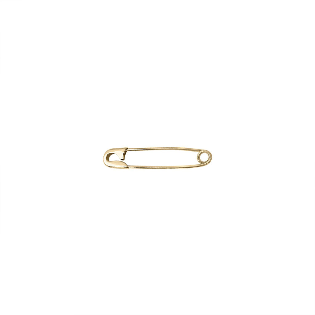 Vintage Safety Pin Charm by Fewer Finer