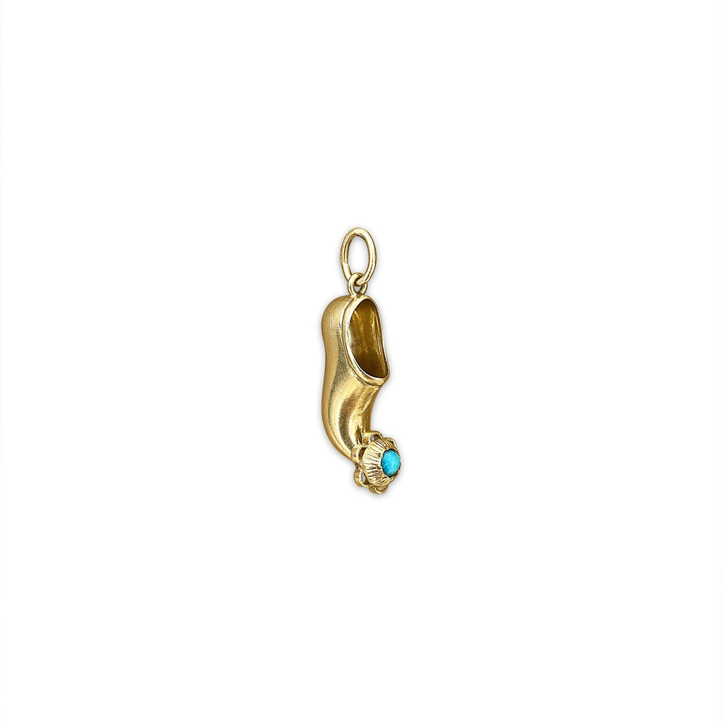 Vintage Aladdin Shoe Charm by Fewer Finer