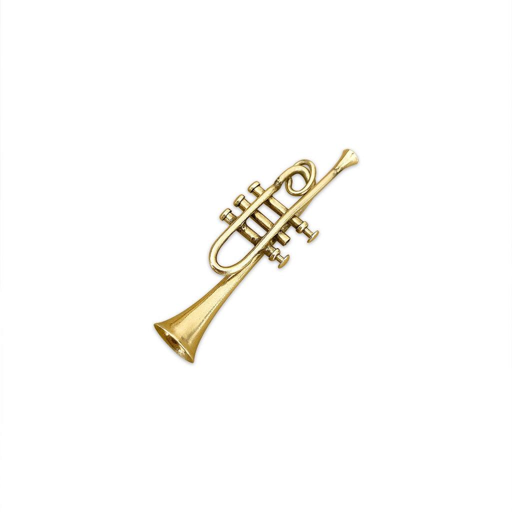 Vintage Large Trumpet Charm by Fewer Finer