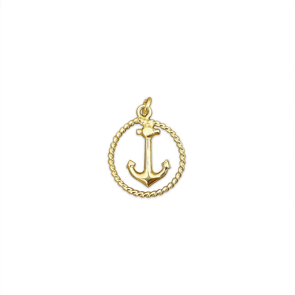Vintage Anchor Charm