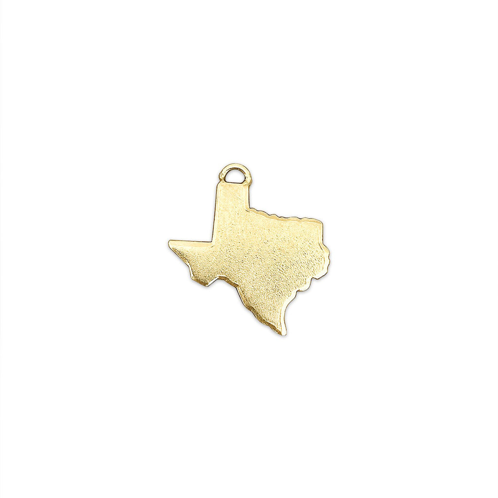 Vintage State of Texas Charm