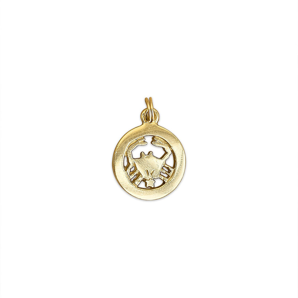 Vintage Crab Charm by Fewer Finer
