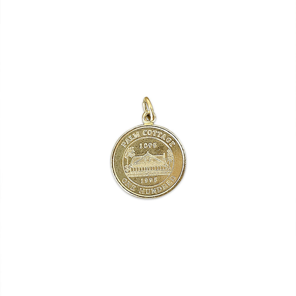 Vintage Collier County Historical Society Charm for Women