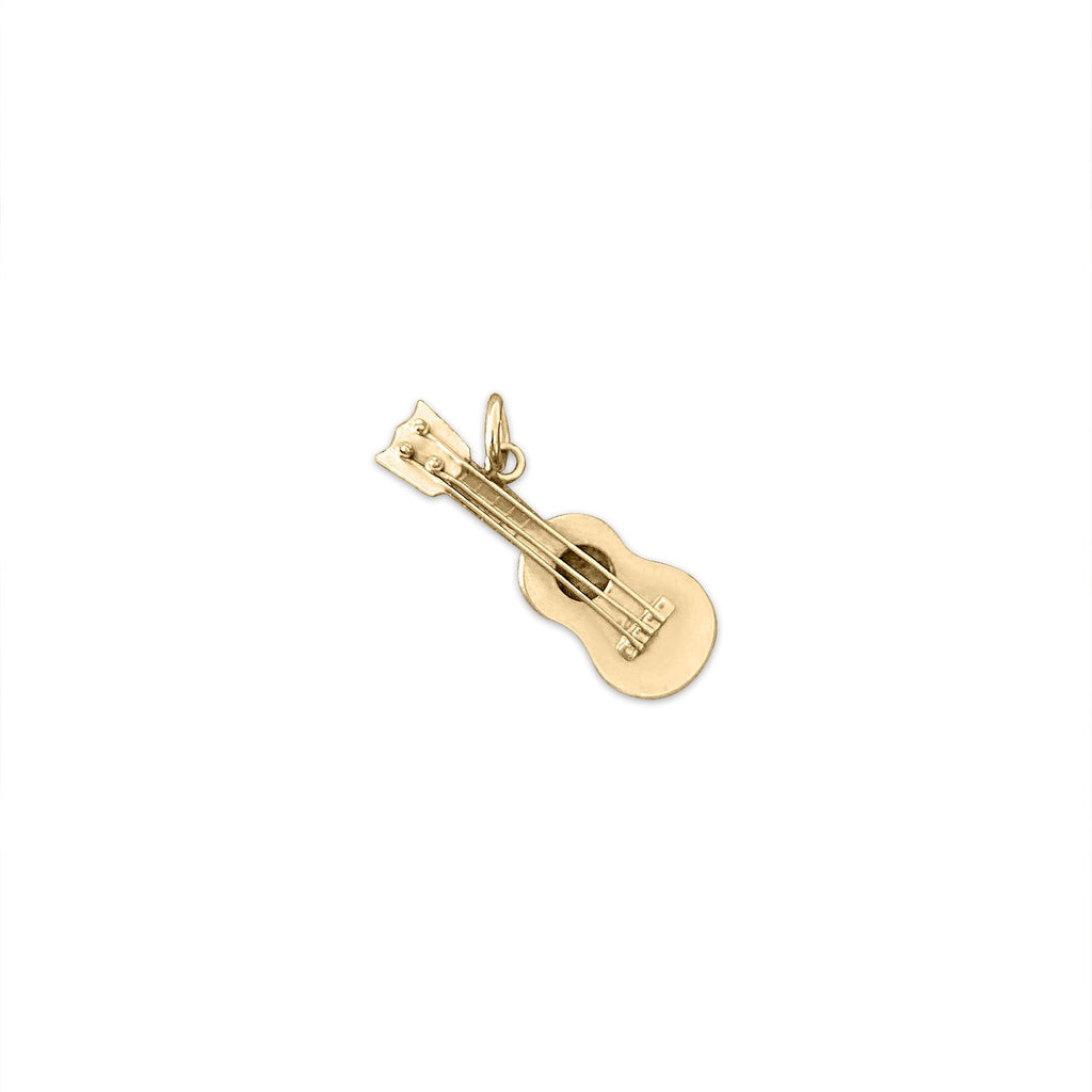 Vintage Guitar Charm by Fewer Finer