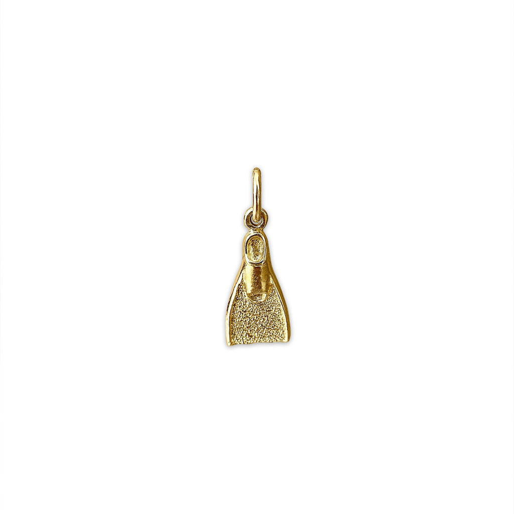 Vintage Flipper Charm by Fewer Finer