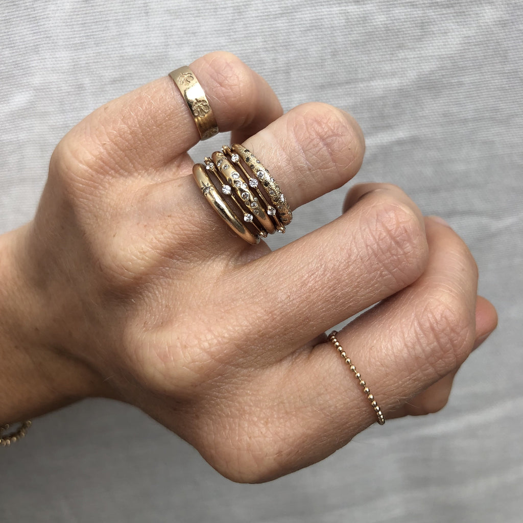 Ball Chain Ring [product type] - Fewer Finer