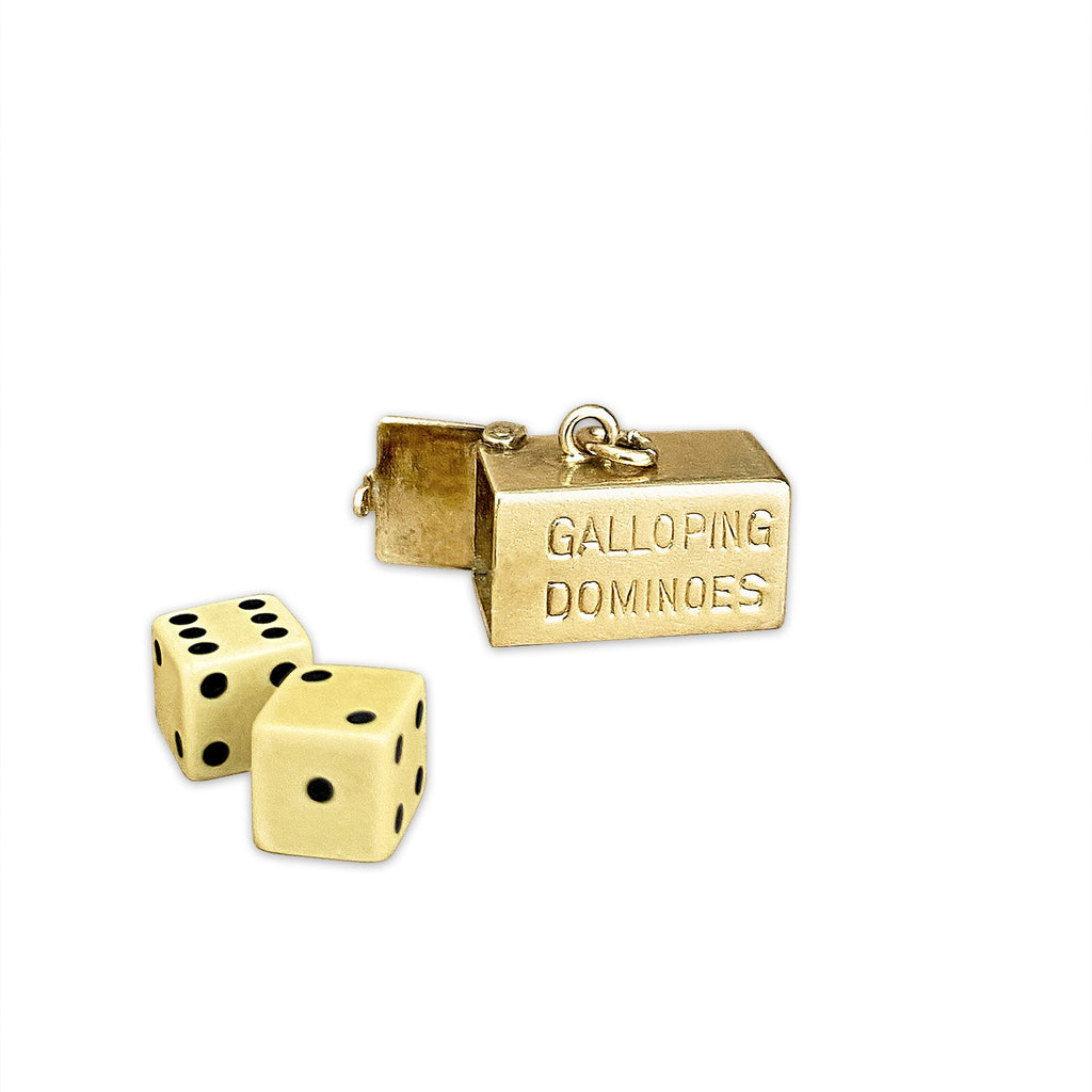 """Galloping Dominoes"" Dice Charm"