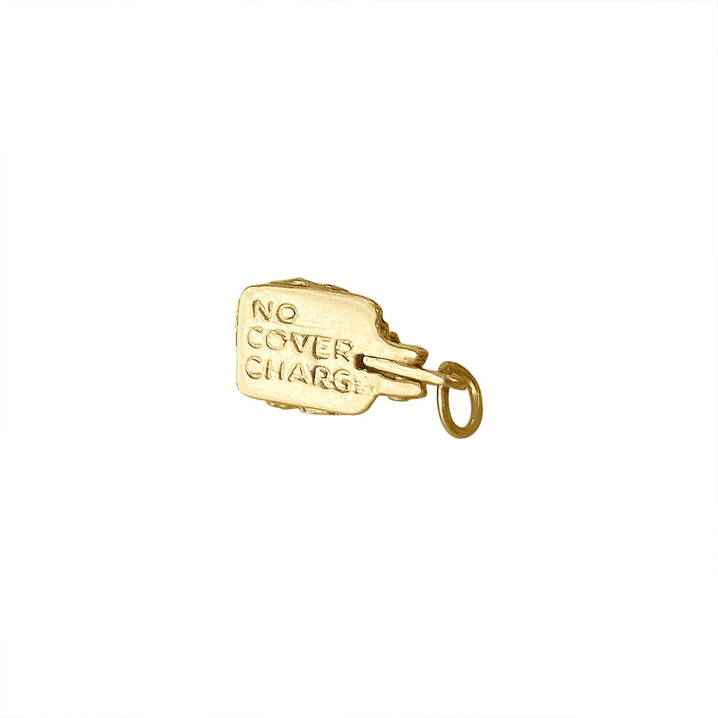"Vintage ""No Cover Charge"" Charm"