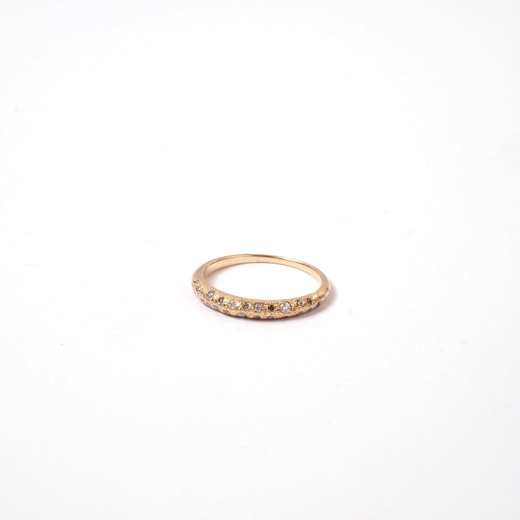 Constellation Ring by Fewer Finer (Side View)