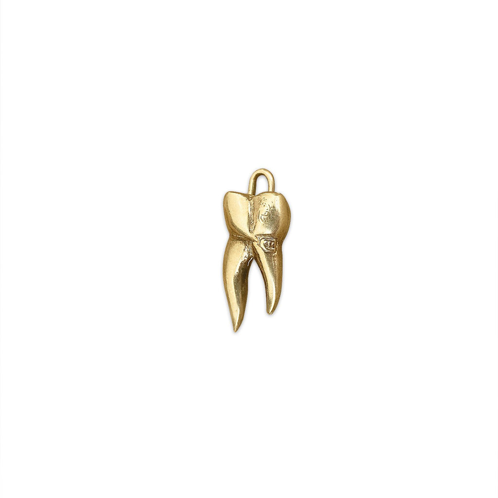 Vintage Tooth Charm by Fewer Finer