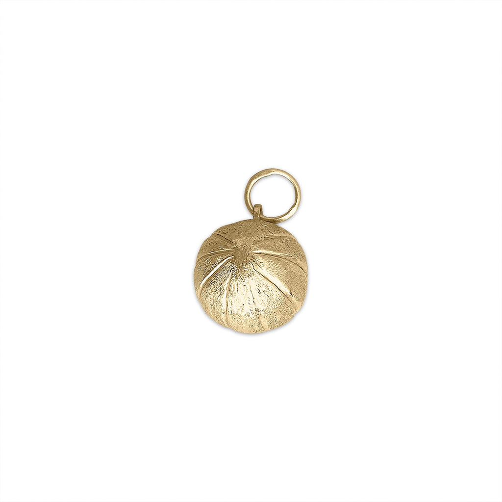 Vintage Gold Basketball Charm