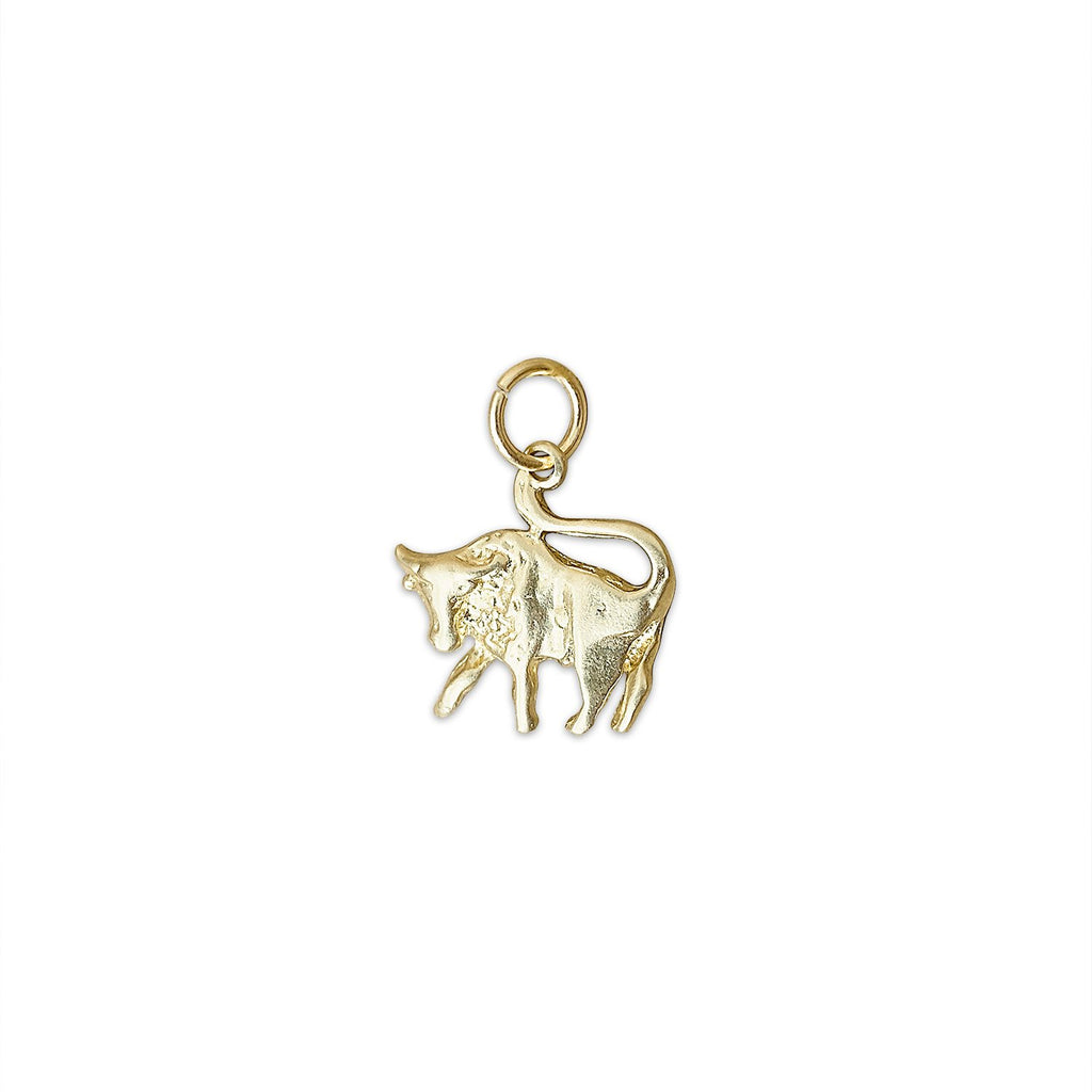 Vintage Bull Taurus Charm by Fewer Finer