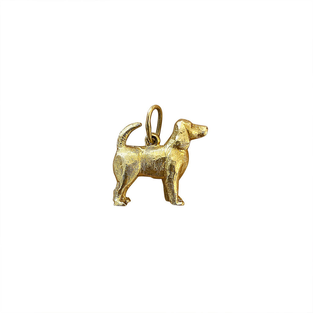 Vintage Dog / Good Boy Charm