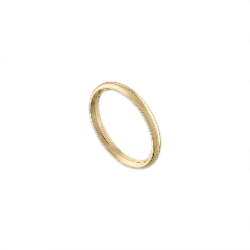 Classic 14k Yellow Gold Band
