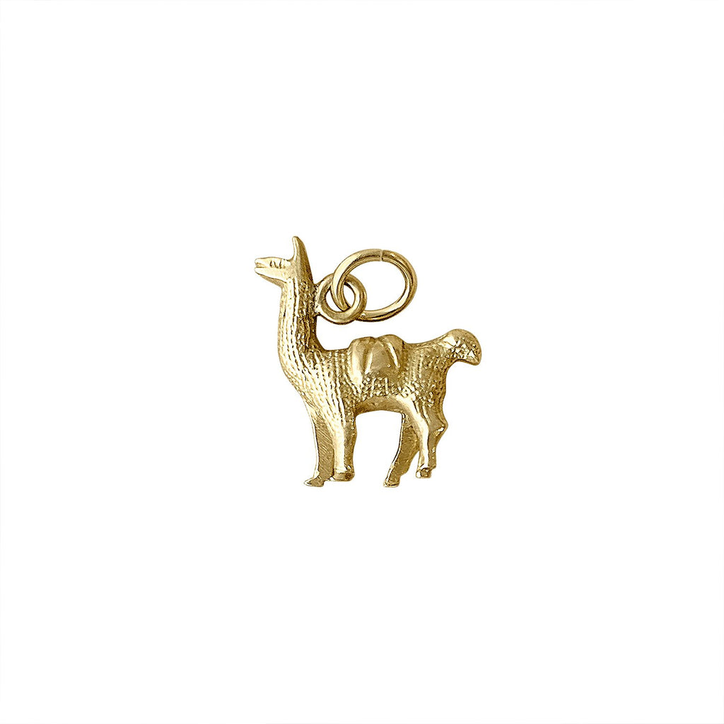Vintage Llama Charm by Fewer Finer