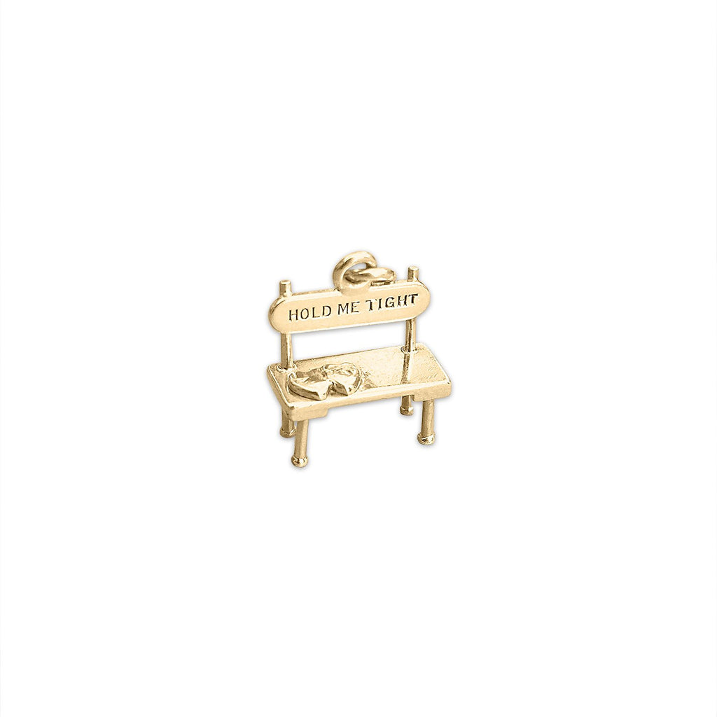 Vintage Lovers' Park Bench Charm