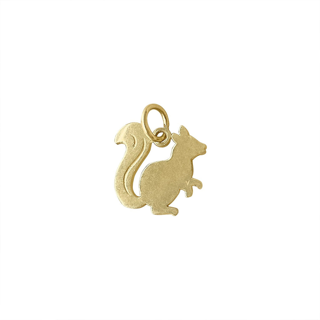Vintage Squirrel Charm