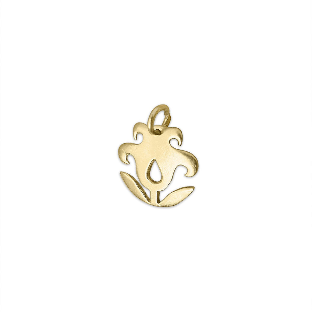 Vintage Tulip Charm by Fewer Finer