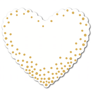 Hearts (pack of 30) - Confetti