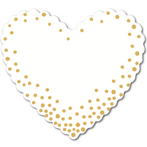 Marketing - Hearts (pack of 30) - Confetti