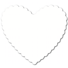 Hearts (pack of 30) - White