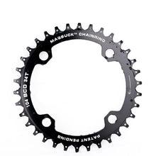 Load image into Gallery viewer, MagSuck Magnetic Narrow Wide Chainring 104BCD