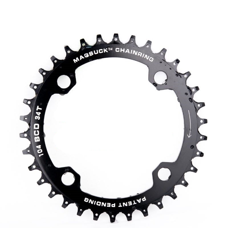 MagSuck Magnetic Narrow Wide Chainring 104BCD