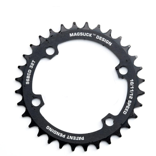 MagSuck Magnetic Narrow Wide Chainring 96BCD
