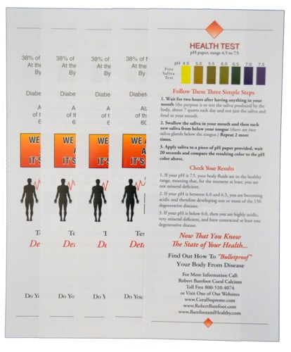 pH Health Test Kit