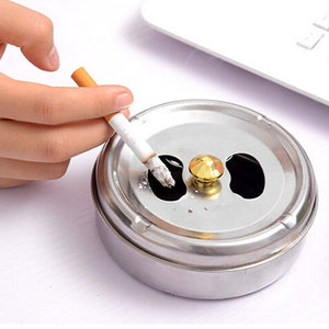 Stainless Steel Cigarette Ashtray