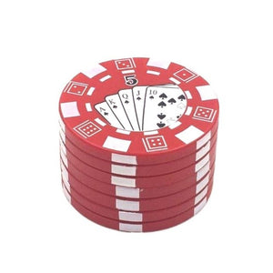 Casino Chips Grinder with Triple Layer