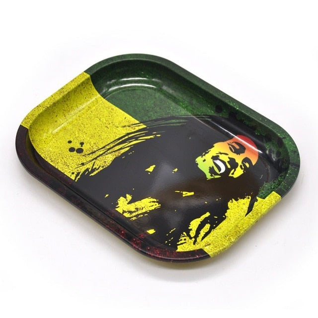 Rolling Tray with Bob Marley imprint