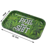 Rolling Tray with Roll That Shit logo
