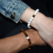 Bracelet couple tigre