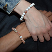 Bracelet couple ambre