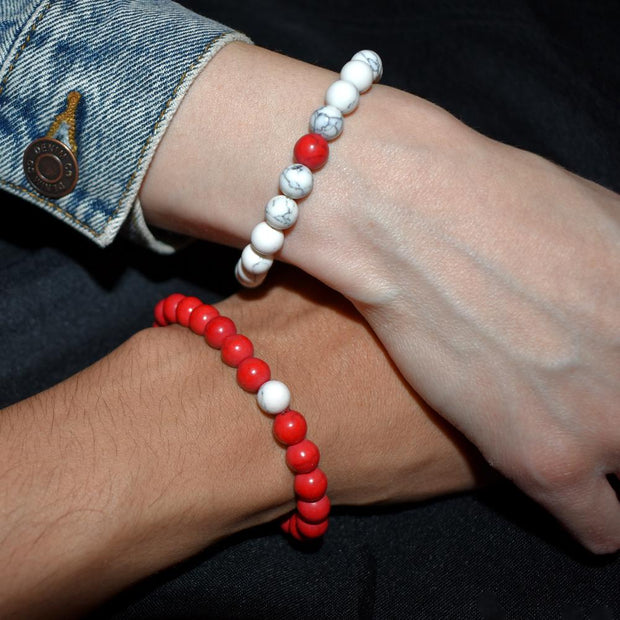 Bracelet couple red