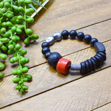 Load image into Gallery viewer, Eruptions No. 1 African Beaded Bracelet