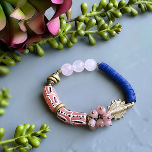 Abundant Love Rose Quartz Bracelet