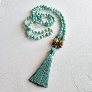 Custom  Peruvian Mala Necklace for A.L. Final Payment