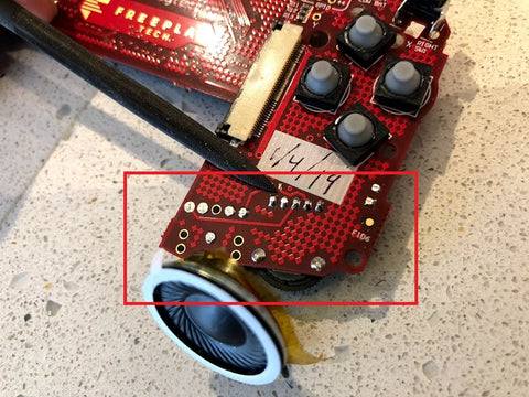 Freeplay trimming solder joints