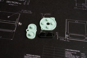 Gameboy Color Replacement Silicone Buttons - Boxy Pixel