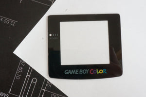 Gameboy Color - Replacement Screen Lens - Glass