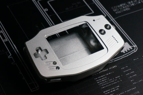 Game Boy Advance Aluminum Machined Shell