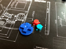 Game Boy Color Replacement Buttons