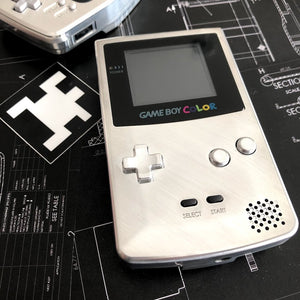 Custom Built Game Boy Color with Backlit screen and Aluminum Shells