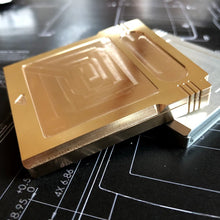 Metal Game Boy cartridge- Machined Aluminum or Brass