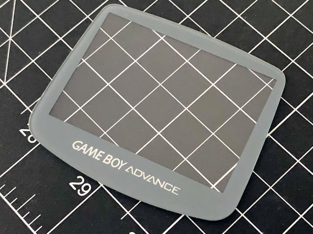 Gameboy Advance IPS screen - Screen Lens - Glass